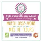 Happy Crackers Miel de Fleurs