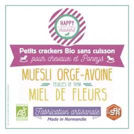 Happy Crackers Miel de Fleurs
