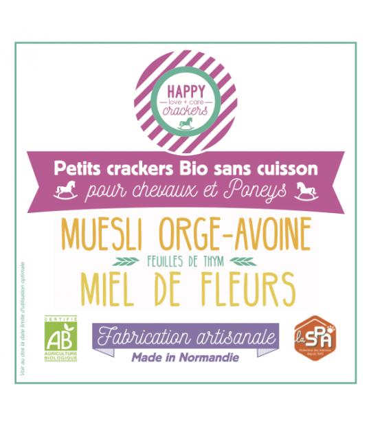 Happy Crackers Miel de Fleurs - Green Normandy